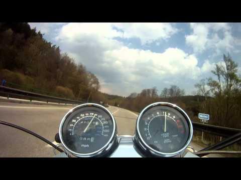 Honda VF750C Magna (видео)