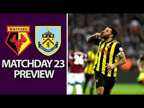 Video: Watford v. Burnley | PREMIER LEAGUE MATCH PREVIEW | 1/19/19 | NBC Sports