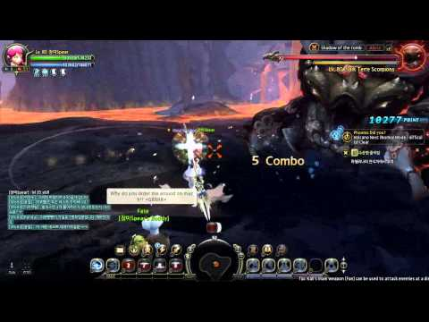 Dragon Nest – lvl 80 Flurry PVE Gameplay