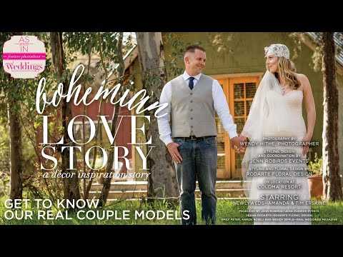 Sacramento Wedding Inspiration: Bohemian Love Story {Get to Know Our Real Couple Models}