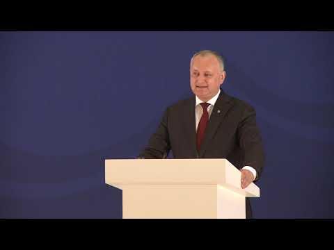 Președintele Republicii Moldova a susținut un discurs în cadrul Forumului Internațional de la Baku