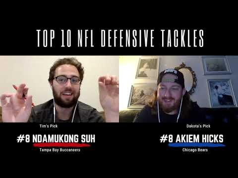Post-Fades & Cheesesteaks Episode 1: Top 10 NFL DE's and DT's