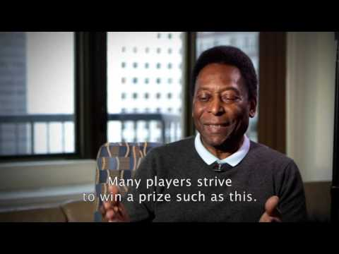 Julien's Auctions: Pelé: The Collection: FIFA Player of the Century Award