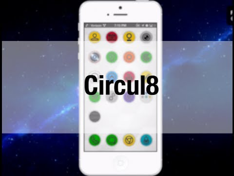 iphone 5 leak - Earlier today Cam Bunton told you about a theme called Circul8. Circul8 is a full theme that brings a lot of changes to iOS. The theme comes with many differ...
