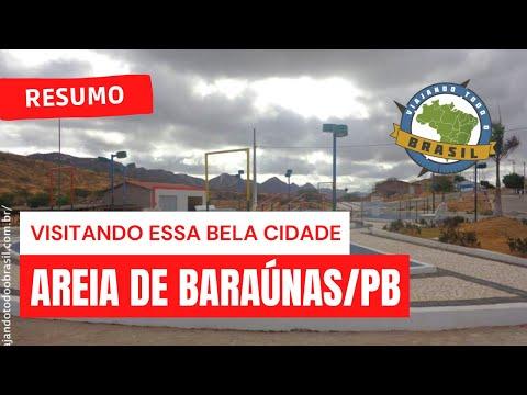 Viajando Todo o Brasil - Areia de Baraúnas/PB