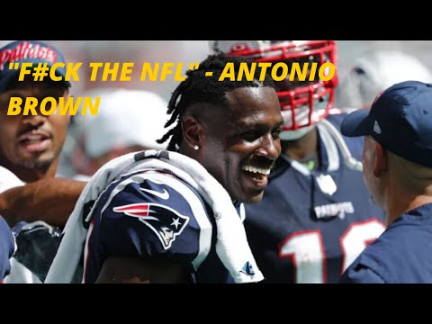 Antonio Brown says F#ck The NFL and then Backtracks?  He's a bozo.