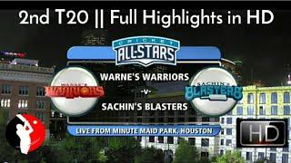 Video Cricket All Star in America - 2nd T20 || Sachin's Blasters Vs Warne's Warriors - Full Highlights HD MP3, 3GP, MP4, WEBM, AVI, FLV Januari 2019