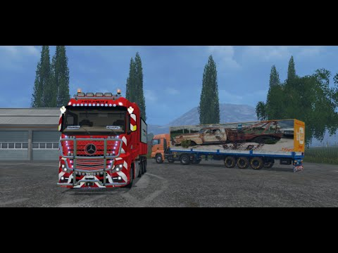 Mercedes Actros MP4 SLT v1.0