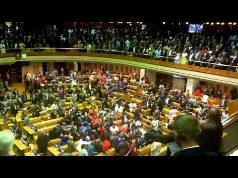 State of the Nation Address 2014: all the song and dance by following President Jacob Zuma's speech.