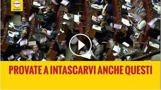 Lancio banconote Danilo Toninelli (M5S) - Rendiconti dei partiti