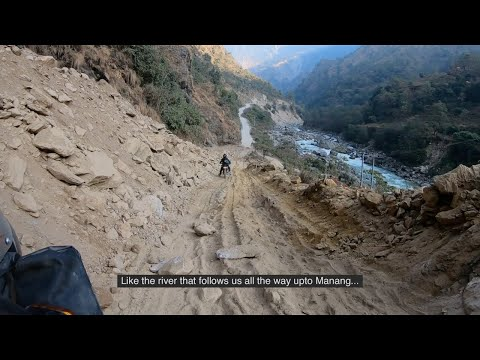 Extreme offroading | Nepal | Himalayas | Pokhara to Manang
