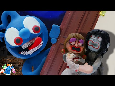 Tiny Haunts after Annabelle and Sadako - Stop Motion Animation Short Film