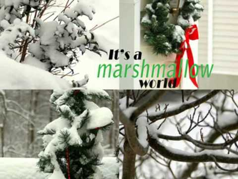 Tekst piosenki Brenda Lee - A Marshmallow World po polsku