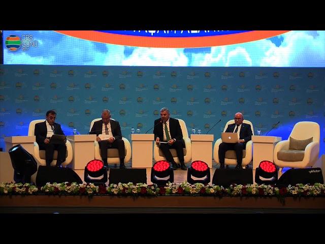 1. Panel Mustafa Çelik Kayseri Büyükşehir Belediye Başkanı (30 Kasım 2017)