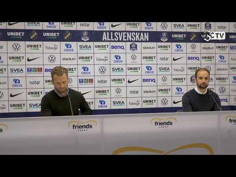 Presskonferens efter AIK - ÖSK
