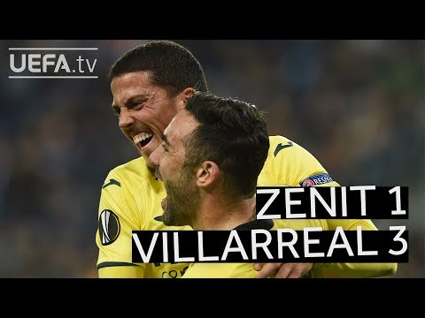 ZENIT 1-3 VILLARREAL #UEL HIGHLIGHTS