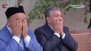 Qalampir.uz - Шавкат Мирзиёев Бекободда таъзияли уйга кириб ҳамдардлик билдирди