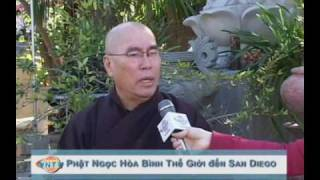 Phật Ngọc Hòa Bình Thế Giới đến San Diego 1