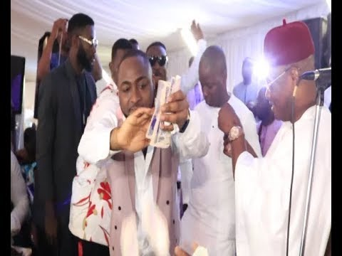 Davido's N500 Binge On K1 De Ultimate At Bobo Ajudua's Wedding