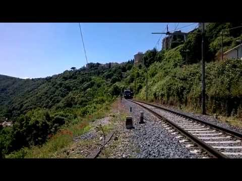 Stazione Castel Gandolfo , Treno Regionale 7348 Albano Laziale - Roma Termini видео