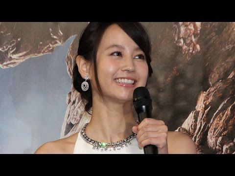 堀北真希、結婚後初イベントに登場!祝福に「ありがとう」と笑顔 映画「ファンタスティック・フォー」イベント1