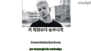 Taeyang 태양 - Louder (Live) (Color Coded Lyrics) (ENGLISH/ROM/HAN)
