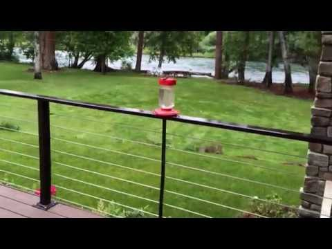 Cable Railing Fabricated for Maximizing River View - Part II