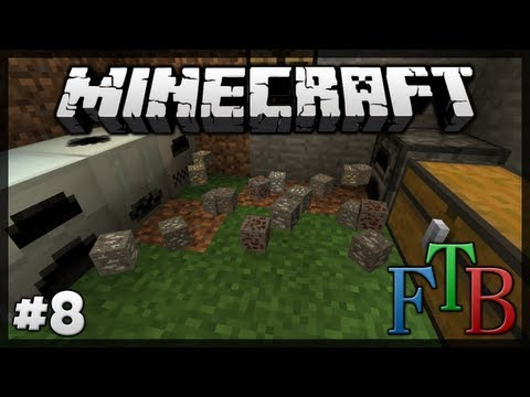 Too Many Ores! Bat Family! || Minecraft / Feed The Beast || Episode 8