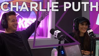 Video Charlie Puth talks Attention, working with Liam Payne, swiping left on Cara Delevingne & more! download in MP3, 3GP, MP4, WEBM, AVI, FLV January 2017