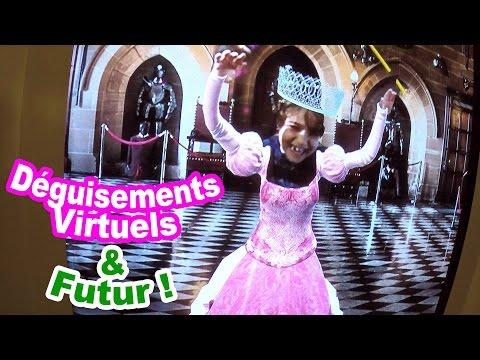 DEGUISEMENTS VIRTUELS & ATTRACTIONS du Futur au FUTUROSCOPE de Poitiers