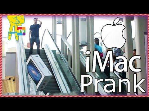 Broken iMac Prank