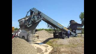 Video #2606 Powerscreen 408 Commander Portable Screening Plant MP3, 3GP, MP4, WEBM, AVI, FLV Februari 2019