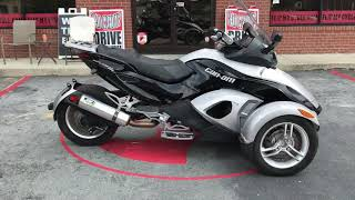 7. Used 2010 Can-Am Spyder RS SE5