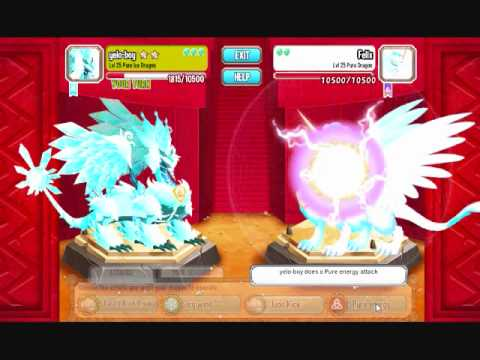 dragon city pure ice update