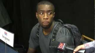 Tony Wroten Draft Combine Interview