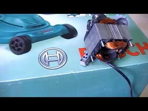 Ремонт электрической газонокосилки бош своими руками видео
