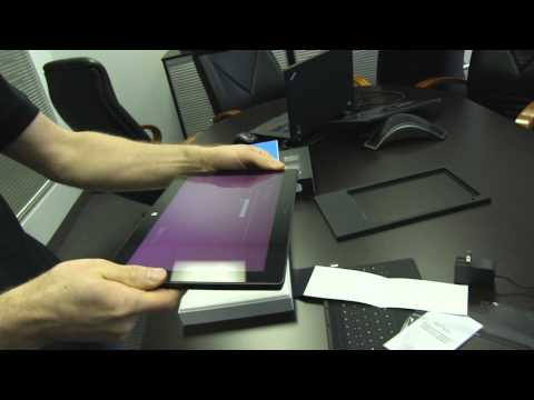 Touch Cover - Microsoft Surface Unboxing & Overview. That is all.