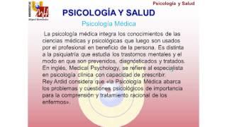 Umh4313 2012-13 Lección 002 Tema 1 Psicología Y Salud