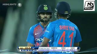 India Vs New zealand 3rd T20 Highlights 8th Nov 2017