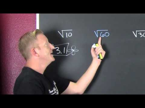 Approximating a Square Root Without a Calculator