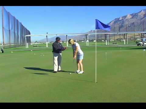 Beginner Golf Lesson – Putting