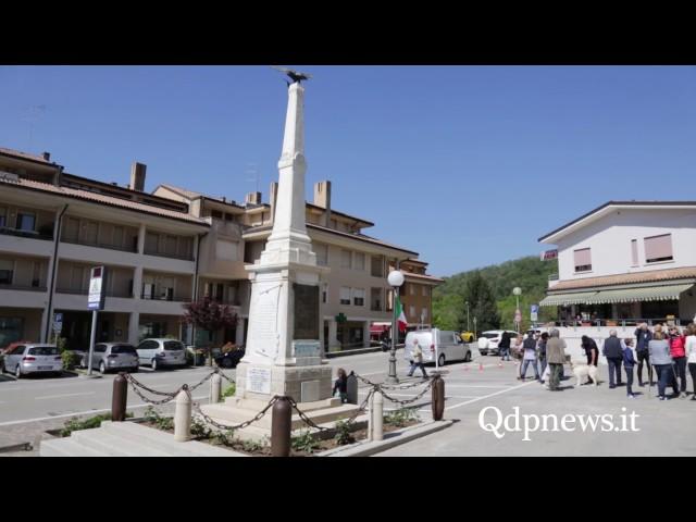 Inaugurazione del municipio e del Monumento ai Caduti dopo il restauro