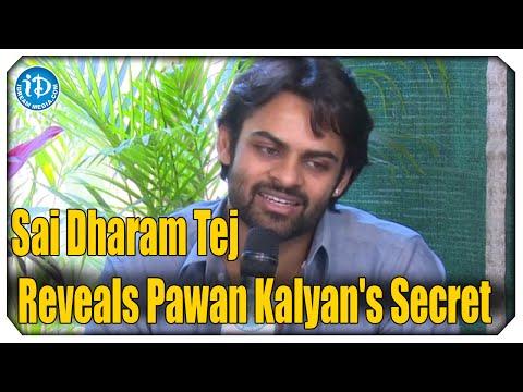 Sai Dharam Tej Reveals Pawan Kalyans Secret  Rey Movie Exclusive Interview  Shraddha Das