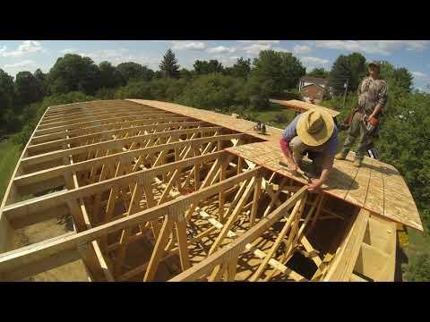Garage Framing - Roof Deck