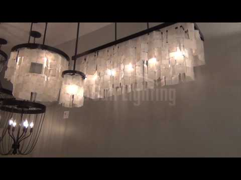 Video for Corsicana Heirloom Bronze Five-Light Linear Pendant