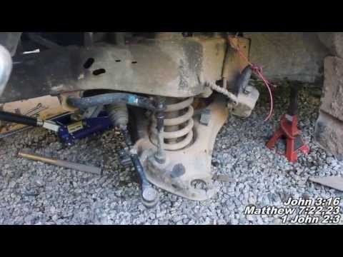 "Ford Ranger Remove Replace ""How to"" Ball Joints"