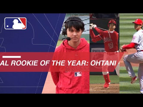 Video: Ohtani named AL Rookie of the Year