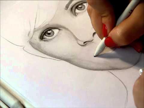 Reese Witherspoon, Portrait zeichnen