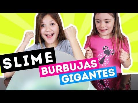 SLIME Divertido  Burbujas Gigantes y diversion con Juguetes de Arantxa  Daniela Golubeva