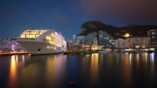 Perception invites you to discover luxuy super yacht Sunborn Gibraltar, docked in the Ocean Village Marina of Gibraltar. The world's first 5 star yacht hotel...